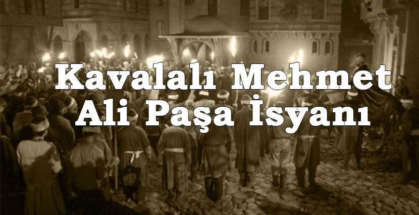 Kavalalı Mehmet Ali Paşa İsyanı