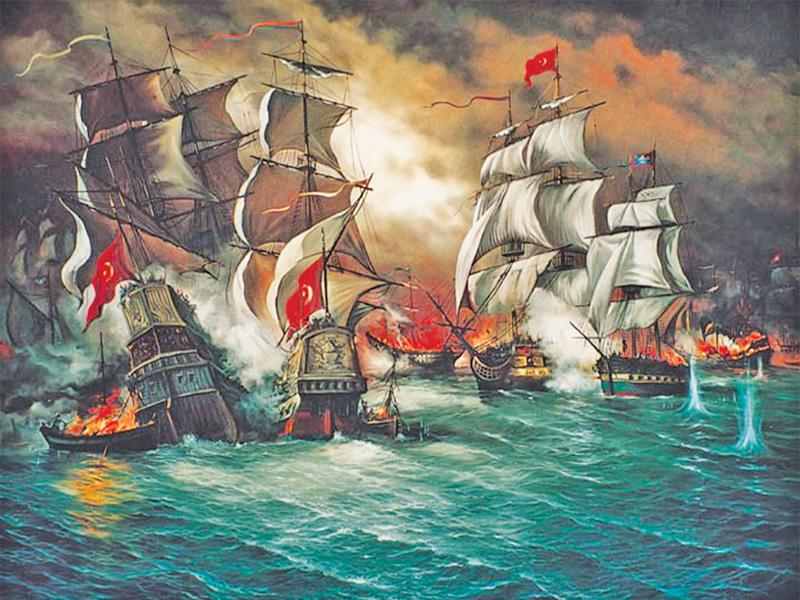 Osmanlı Devleti Bahriye Teşkilatı Gemileri