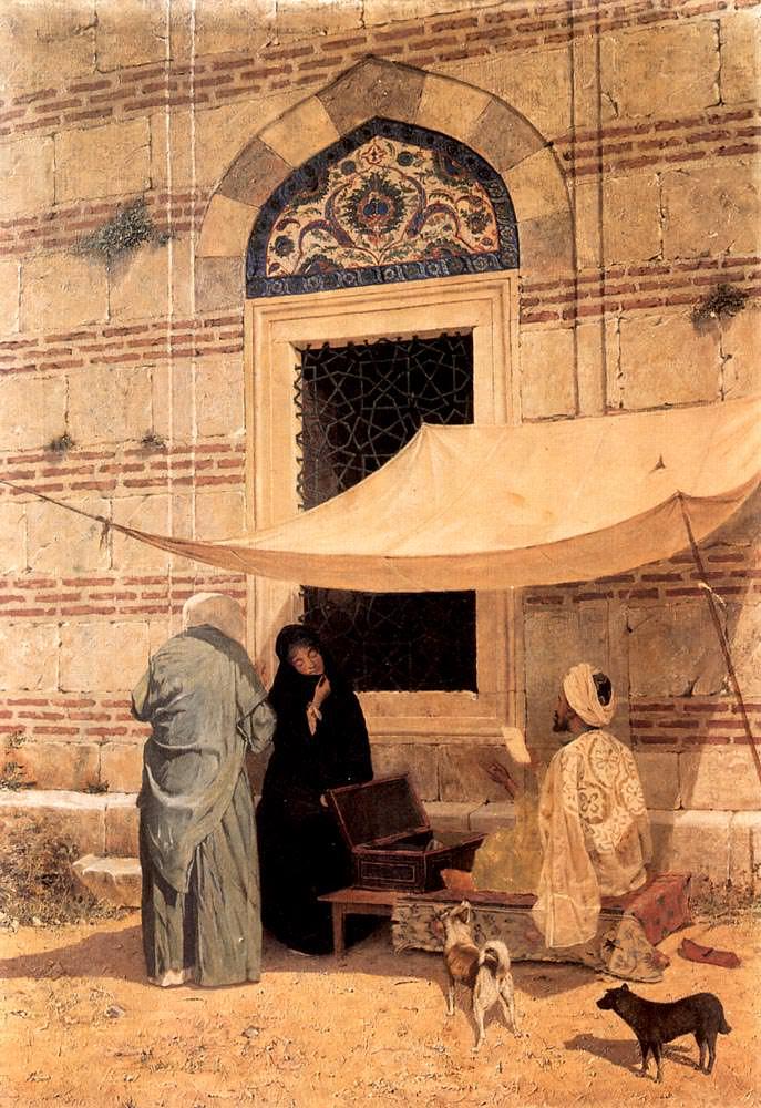 Cami Önünde Arzuhalci