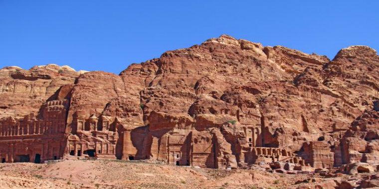 Petra'nın görüntüsü