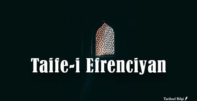 Taife-i Efrenciyan